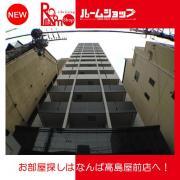 近鉄大阪線大阪上本町駅より徒歩6分 1K/6階の外観