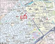 TOPROOM新宿公園第2 10階の地図