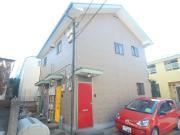 パインクレスト下石神井 1K/2階の外観 1フロア2住戸のかわいい建物♪