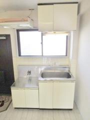 豊玉三功ハイツ 1K/2階のキッチン ★2口ガスコンロ設置できます★ 別室参考写真