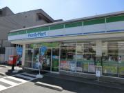 エクセレント錦A 2LDK/2階の周辺 ファミリーマート桜川三丁目店500m