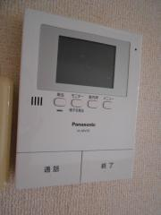アルカンシェル・MT 2LDK/1階のその他画像 来客時に便利なTVモニタ付ドアホン