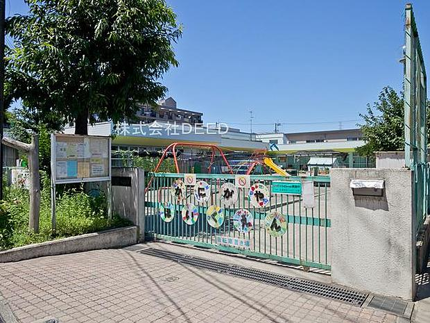 【保育園】蟹ケ谷保育園まで1095m