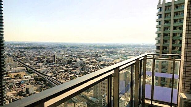 外観:タワーマンション高層階からの眺望を、ぜひご堪能下さい♪