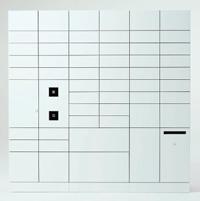 ネットショッピングの際にも便利な宅配ボックスを設置。