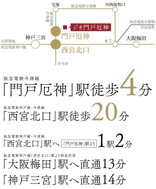 ※電車による所要時間は、日中平常時のもので、ラッシュ時・時間帯によって異なる場合がございます。また、乗り換えや待ち時間は含まれておりません。<交通案内図>