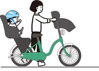 自転車置き場3人乗り自転車対応