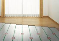 温水式TES床暖房