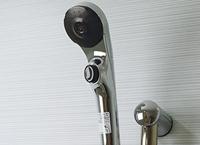 節水機能付シャワーヘッド