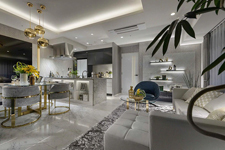 Living Dining Room(Gタイプモデルルームプラン)