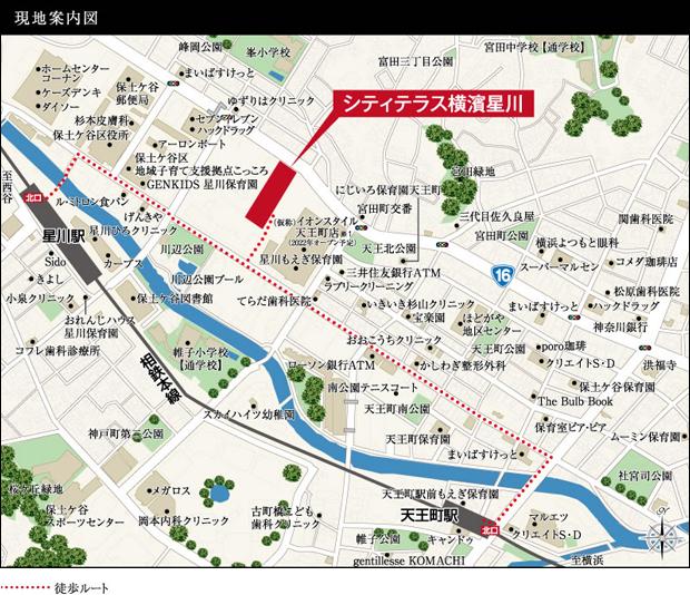 ※1 「(仮称)イオンスタイル天王町」 2022年オープン予定。 出典:イオンリテール株式会社 ヒアリング確認による(2021年2月現在)<現地案内図>