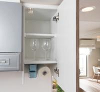 キッチンコンパクト吊戸棚